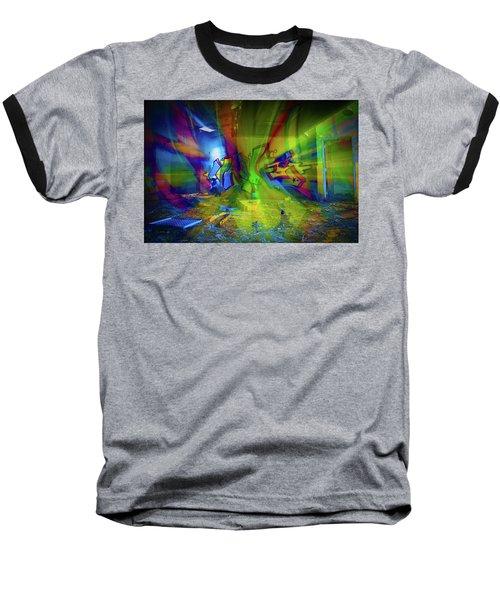 Color Wave Baseball T-Shirt
