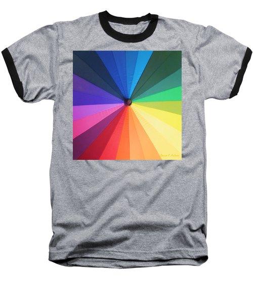 Color Wheel Baseball T-Shirt