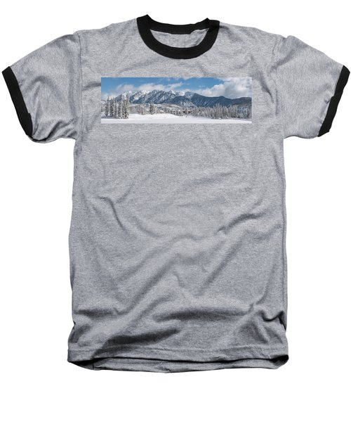 Baseball T-Shirt featuring the photograph Colorad Winter Wonderland by Darren White