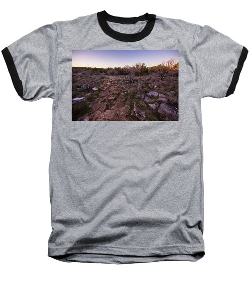 Colorado Bend State Park Gorman Falls Trail #1 Baseball T-Shirt