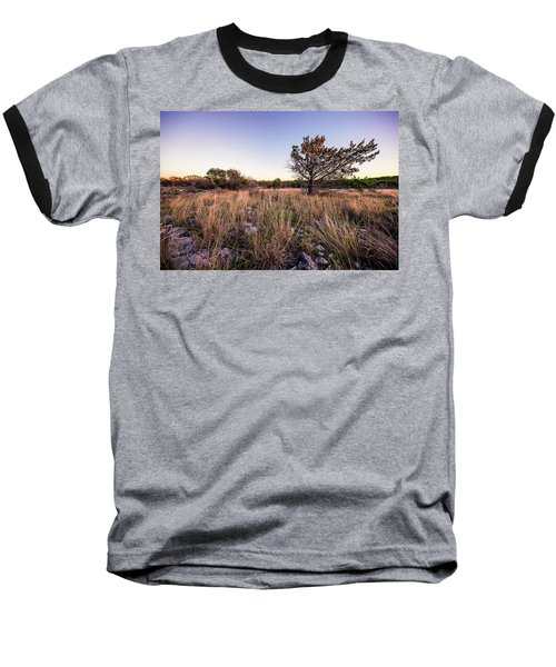 Colorado Bend State Park Gorman Falls Trail #2 Baseball T-Shirt