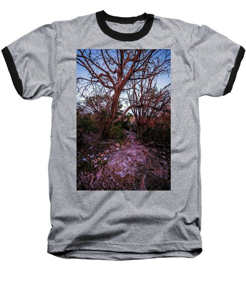 Colorado Bend State Park Gorman Falls Trail #3 Baseball T-Shirt