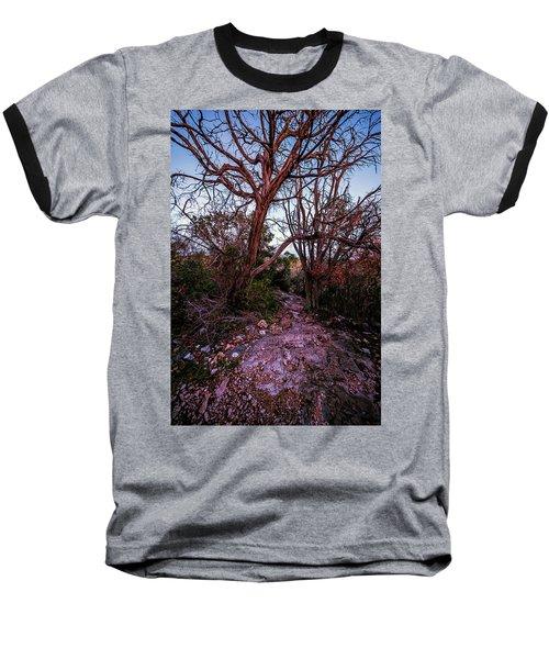 Colorado Bend State Park Gorman Falls Trail #3 Baseball T-Shirt