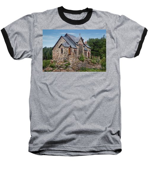 Baseball T-Shirt featuring the photograph Colorado Chapel On The Rock by James Woody
