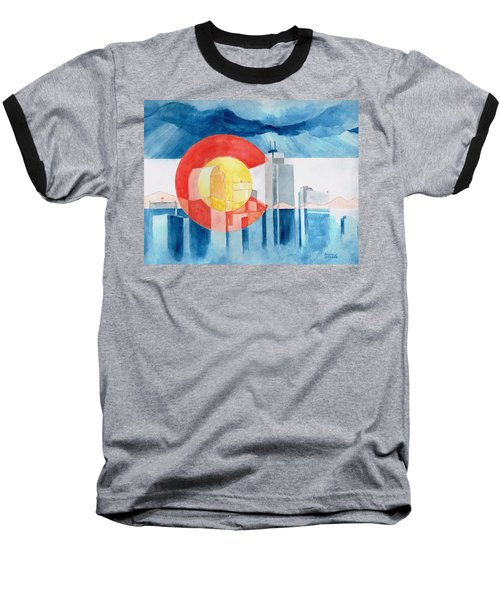Colorado Flag Baseball T-Shirt