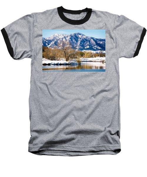 Colorado Flatirons 2 Baseball T-Shirt