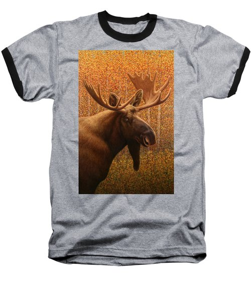 Colorado Moose Baseball T-Shirt by James W Johnson