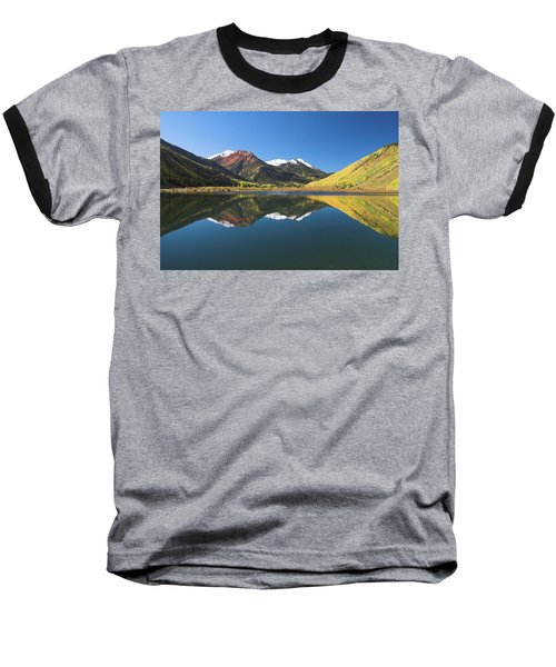 Baseball T-Shirt featuring the photograph Colorado Reflections by Steve Stuller