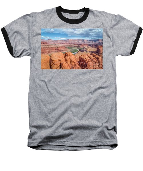 Colorado River And Chicken Corner Trail  Baseball T-Shirt