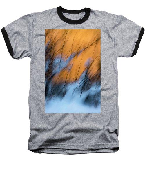 Colorado River Snow Banks Baseball T-Shirt
