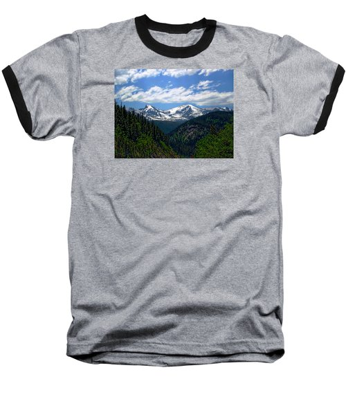 Colorado Rocky Mountains Baseball T-Shirt by Anthony Dezenzio