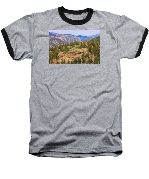Baseball T-Shirt featuring the photograph Colorado Rocky Mountains by Sheila Brown