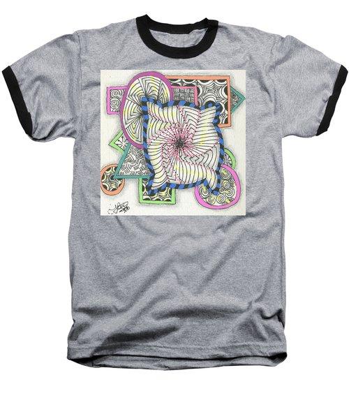 Colored Frames Baseball T-Shirt