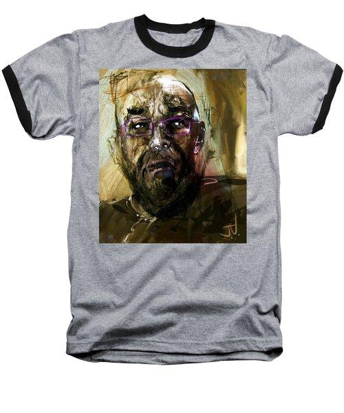 Colored Glasses Baseball T-Shirt by Jim Vance