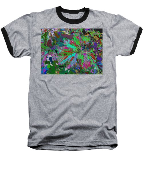 Colorfication - Leafy Colored Baseball T-Shirt