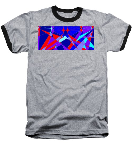 Colorful 1 Baseball T-Shirt