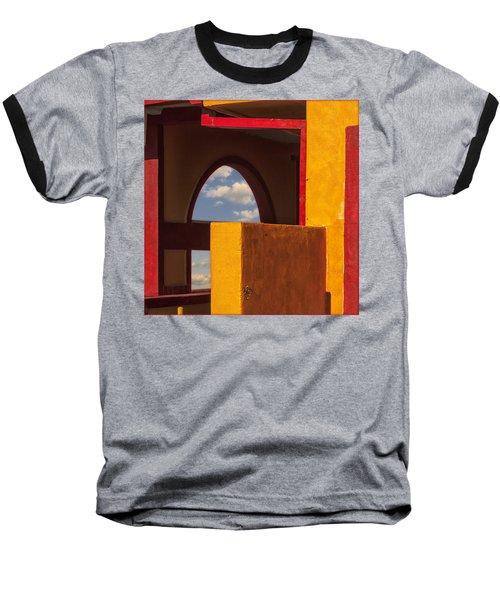 Colorful Adobe One Baseball T-Shirt by Gary Warnimont