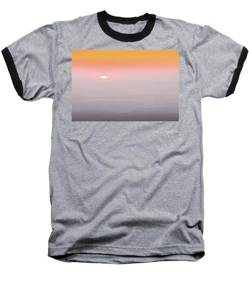 Colorful And Smoky Carolina Sunrise Baseball T-Shirt