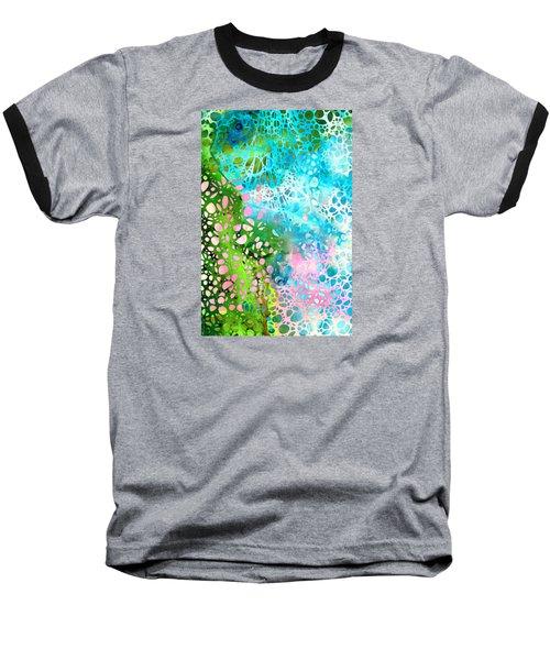 Colorful Art - Enchanting Spring - Sharon Cummings Baseball T-Shirt by Sharon Cummings