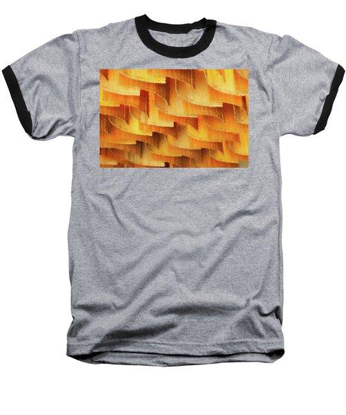 Colorful Bamboo Ceiling- China Baseball T-Shirt