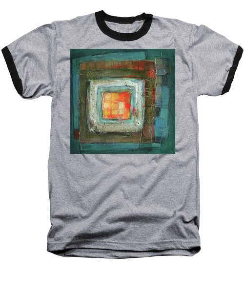 Colorful Baseball T-Shirt by Behzad Sohrabi