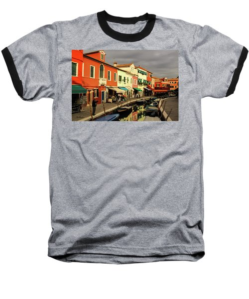 Colorful Burano Baseball T-Shirt