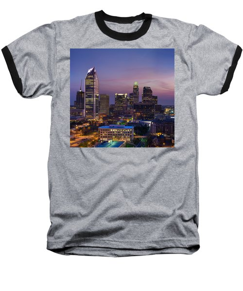 Baseball T-Shirt featuring the photograph Colorful Charlotte by Serge Skiba