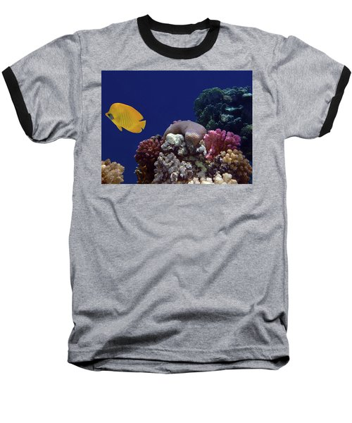Colorful Coralreef Baseball T-Shirt