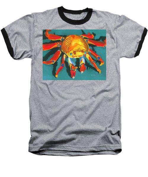 Colorful Crab II Baseball T-Shirt