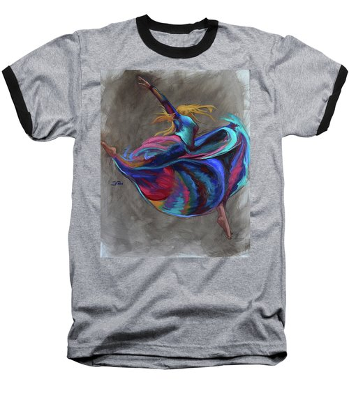 Colorful Dancer Baseball T-Shirt