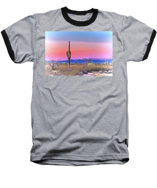 Colorful Desert Baseball T-Shirt