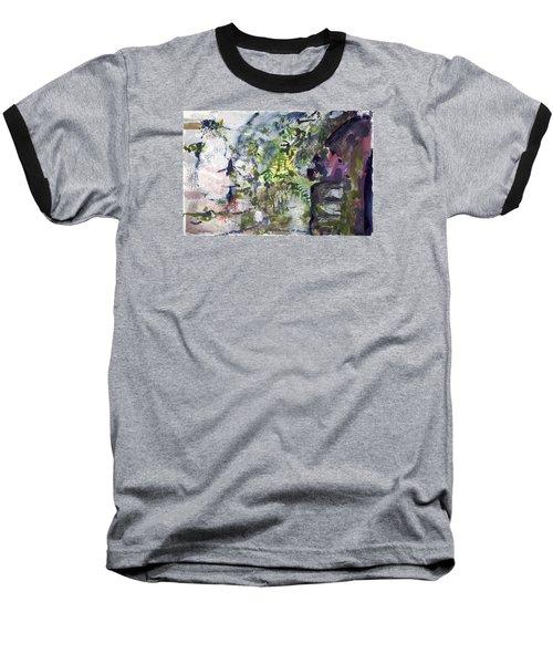 Colorful Foliage Baseball T-Shirt