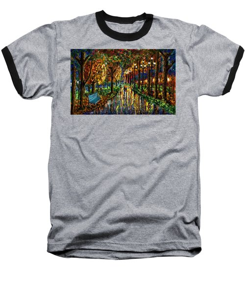 Colorful Forest Baseball T-Shirt