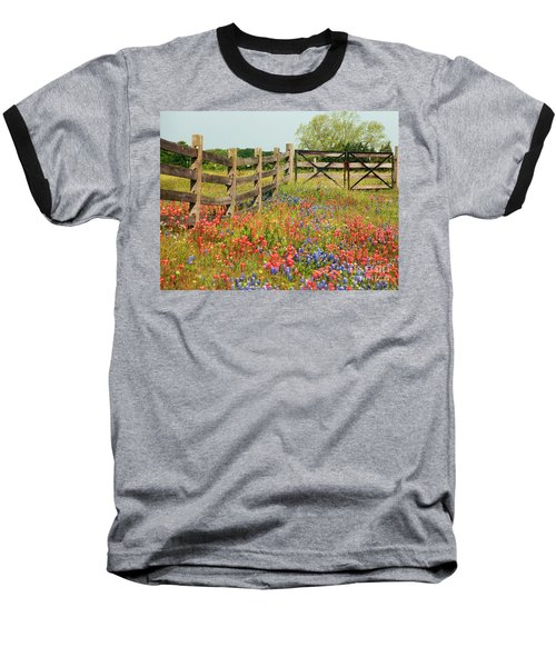 Colorful Gate Baseball T-Shirt