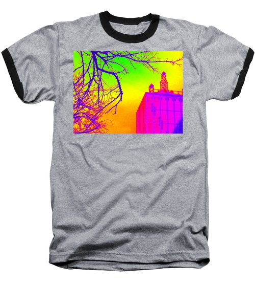 Dallas In Vivid Colors Baseball T-Shirt