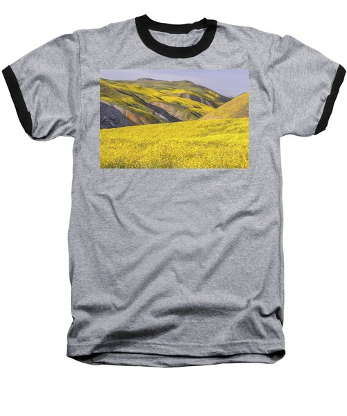 Baseball T-Shirt featuring the photograph Colorful Hill And Golden Field by Marc Crumpler