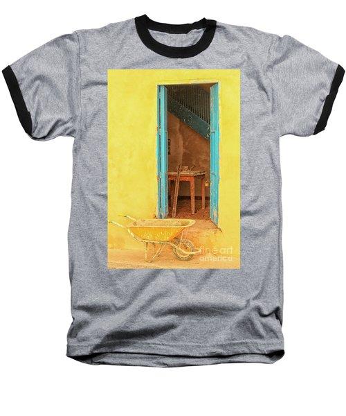 Colorful House  Baseball T-Shirt