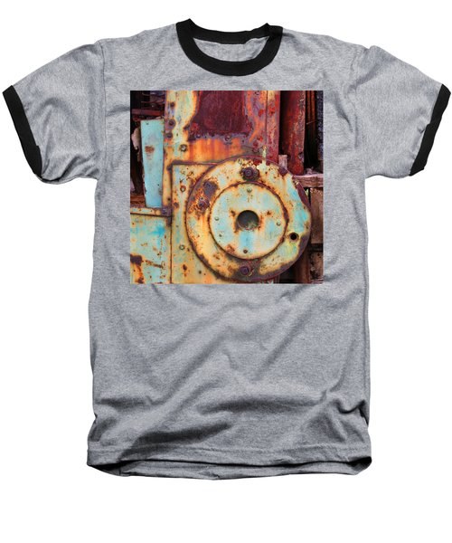 Colorful Industrial Plates Baseball T-Shirt
