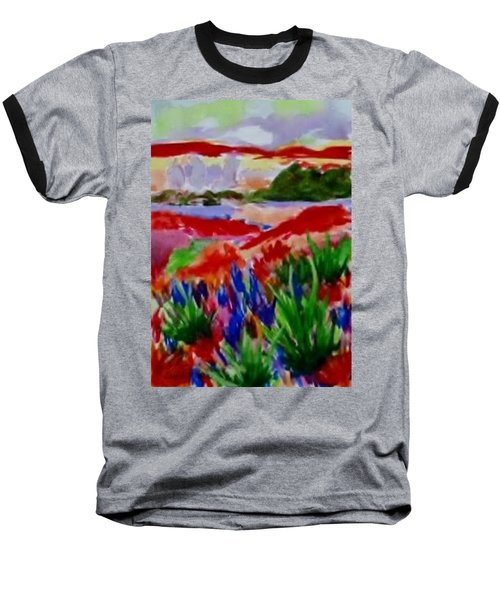Colorful Baseball T-Shirt by Jamie Frier