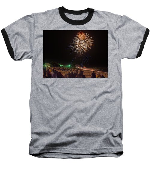 Baseball T-Shirt featuring the photograph Colorful Kewaunee, Fourth by Bill Pevlor