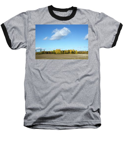 Colorful Landscape Baseball T-Shirt