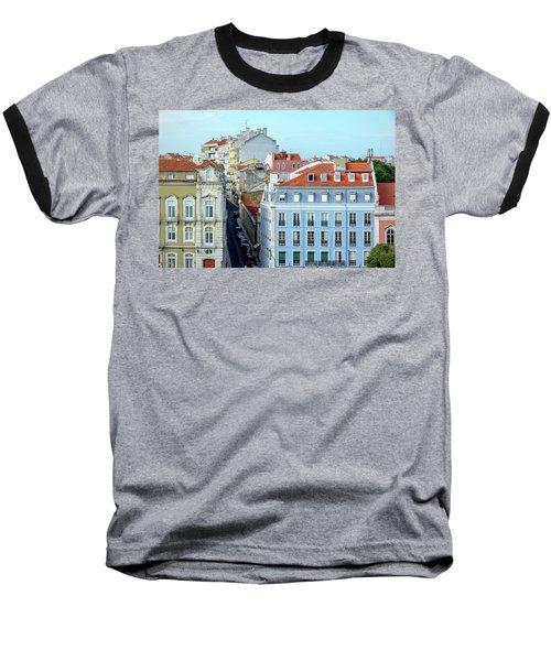 Colorful Lisbon Baseball T-Shirt