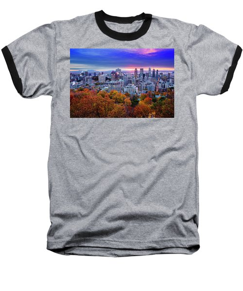 Baseball T-Shirt featuring the photograph Colorful Montreal  by Mircea Costina Photography