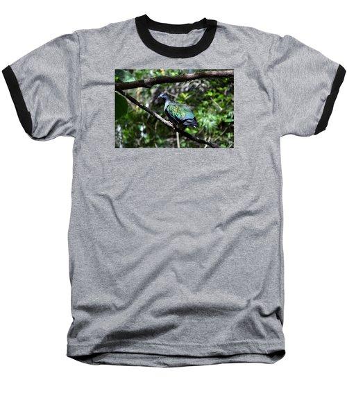Colorful Baseball T-Shirt by Nikki McInnes