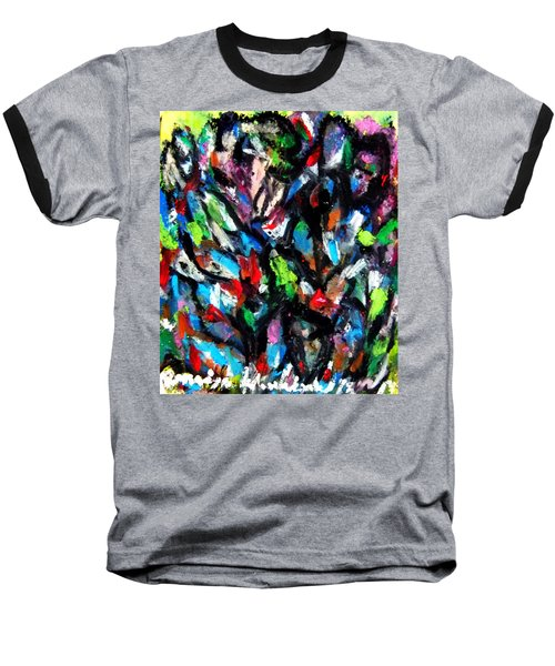 Colorful Of Life Baseball T-Shirt