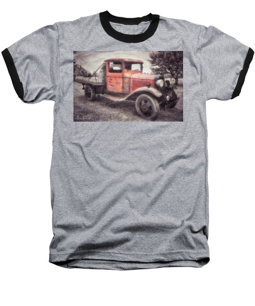 Colorful Past Baseball T-Shirt