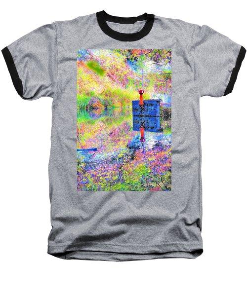 Colorful Reflections Baseball T-Shirt
