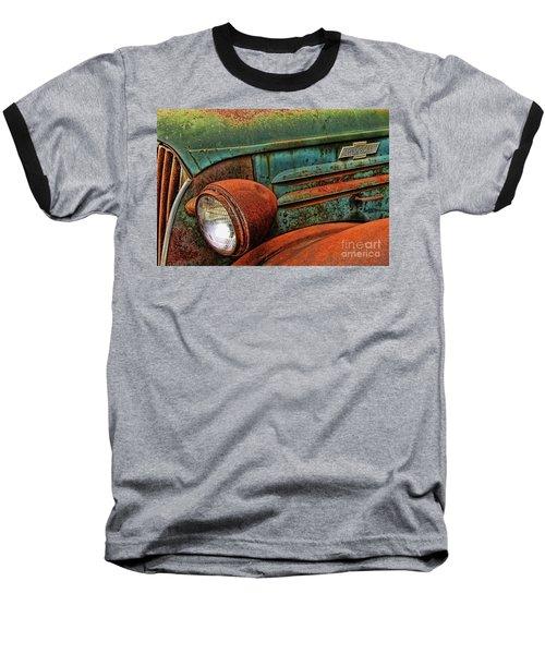 Colorful Rust Baseball T-Shirt