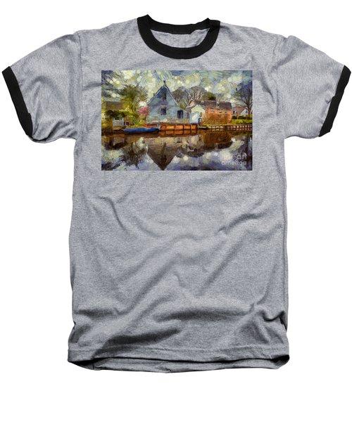 Colorful Serenity Baseball T-Shirt