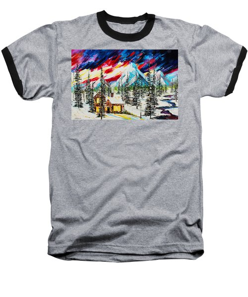 Colorful Sky Baseball T-Shirt